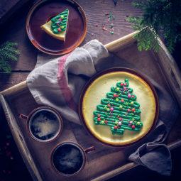 Cheesecake im Weihnachtslook 4