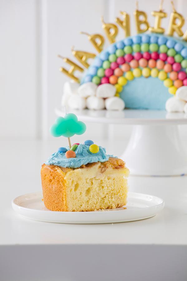 Regenbogenkuchen Zum Kindergeburtstag Rezept Rainbow Layer Cakes
