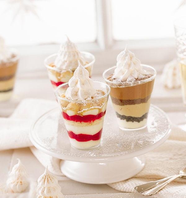 Dessert mit Baiser-Tanne 18