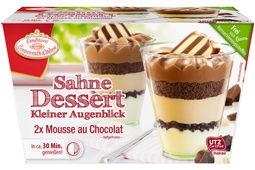 Dessert mit Baiser-Tanne 1