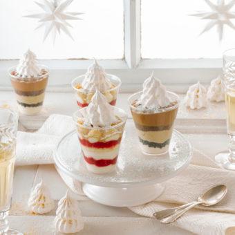 Dessert mit Baiser-Tanne 20