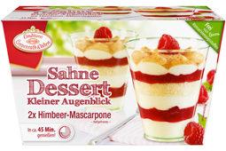 Dessert mit Baiser-Tanne 2