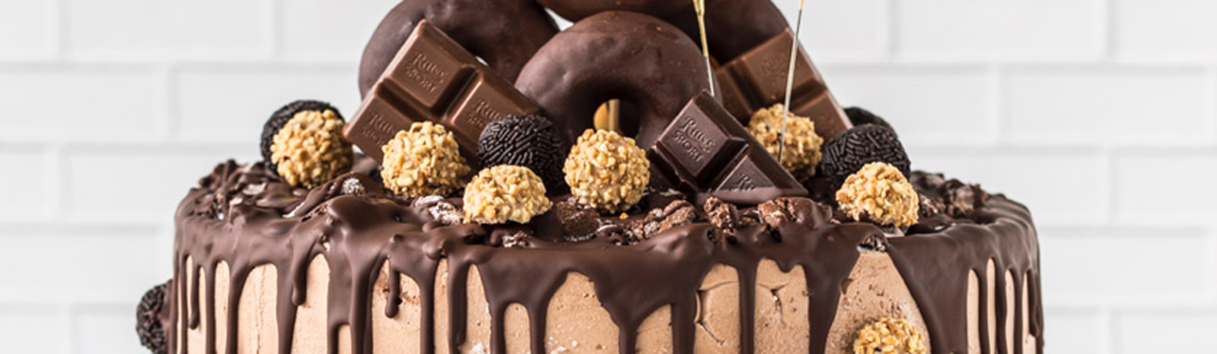 Donut-Torte zum 18.Geburtstag 1