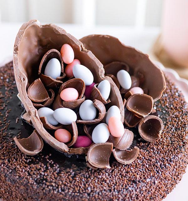 Mousse au Chocolat-Torte simpel mit Eiern gepimpt! 11