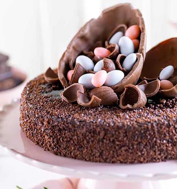 Mousse au Chocolat-Torte simpel mit Eiern gepimpt! 17