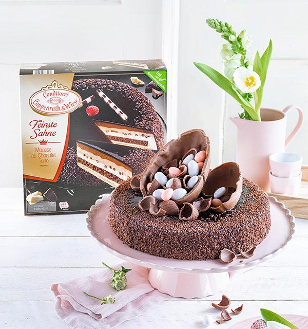 Mousse au Chocolat-Torte simpel mit Eiern gepimpt! 20