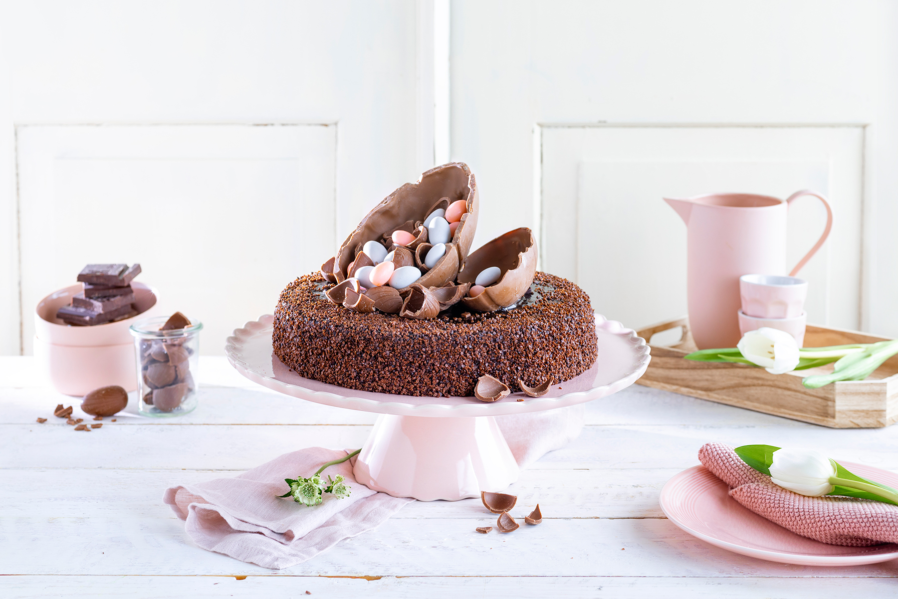 Mousse au Chocolat-Torte simpel mit Eiern gepimpt!