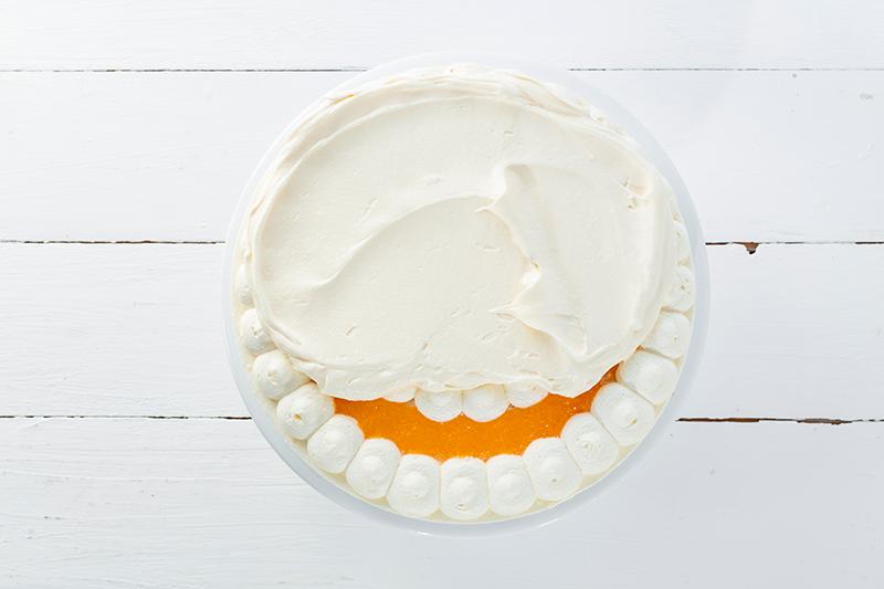 Buttercremerosen - stilvoll und einfach als Tortendeko! 4