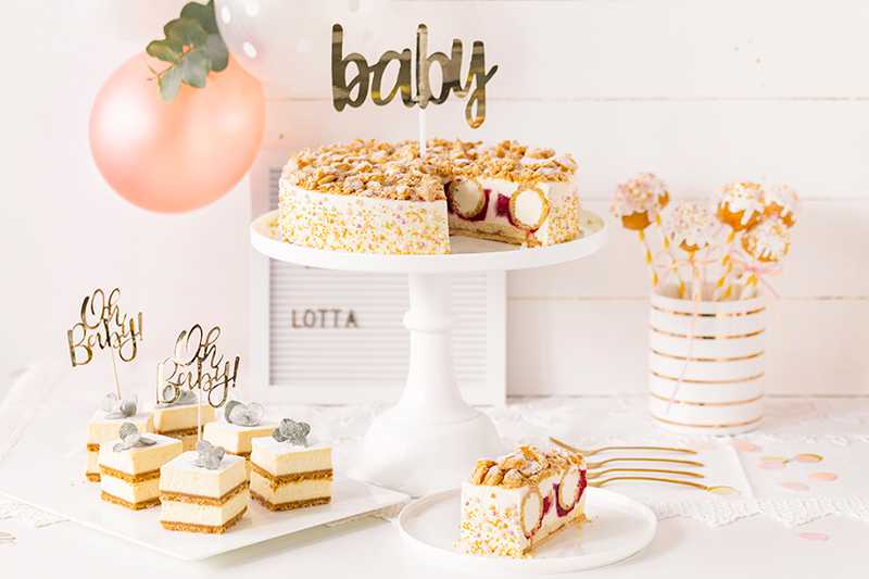 Sweet Table zur Babyparty 1