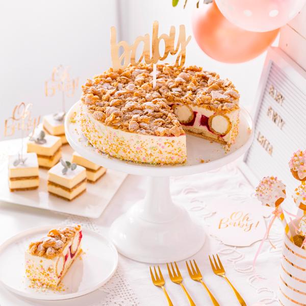 Einfache Ideen für den Sweet Table zur Babyparty