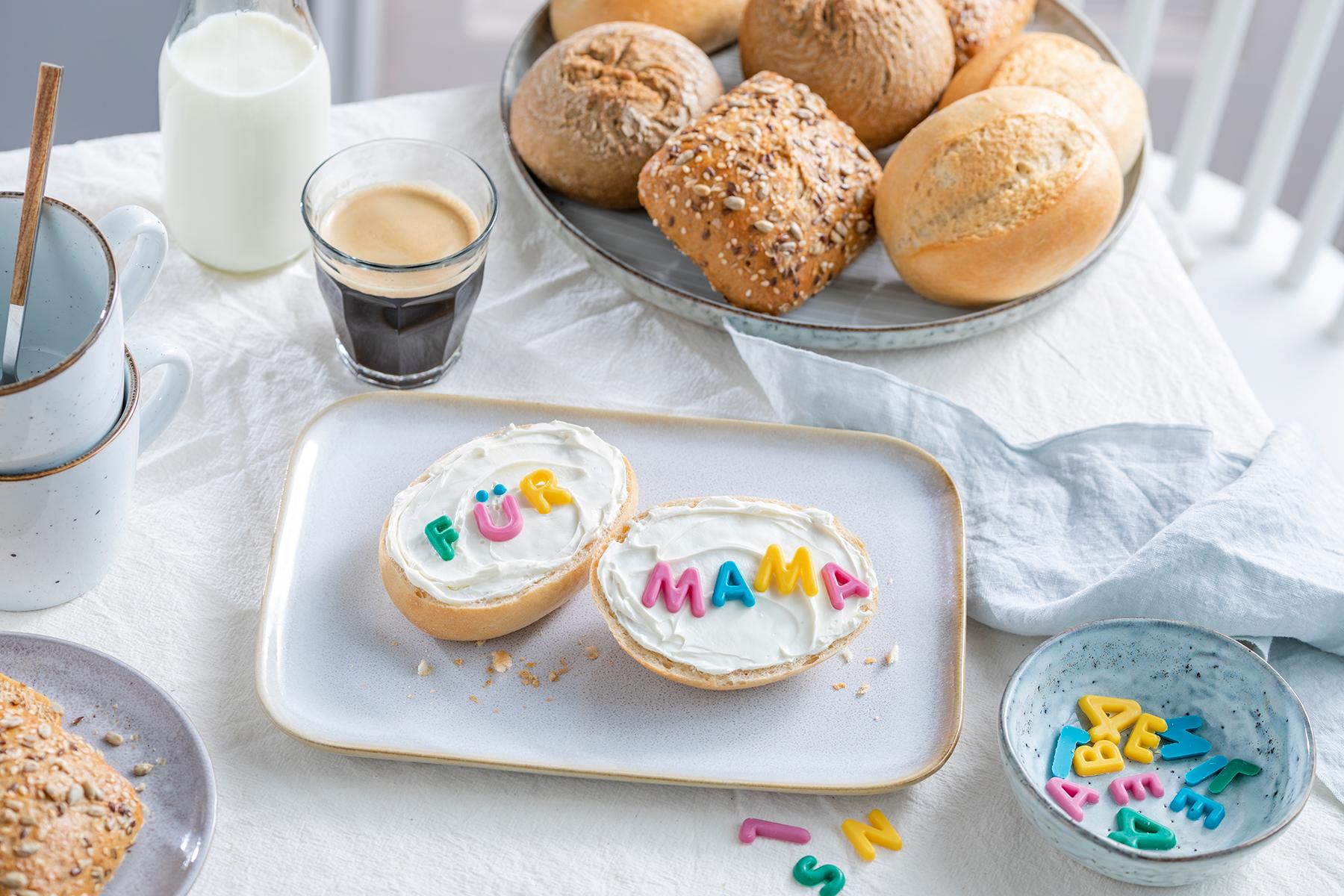 Frühstück zum Muttertag - schöne Überraschung