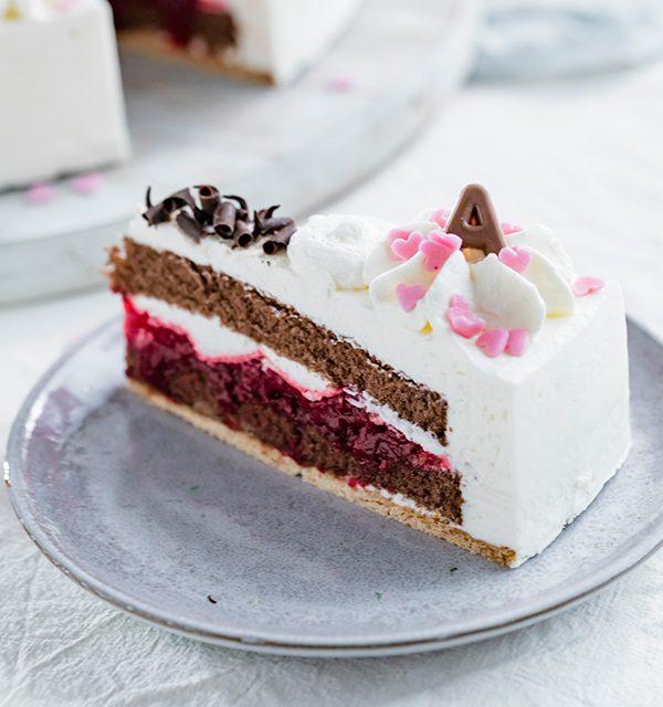 Genial einfach: Buchstaben-Torte zum Muttertag 27