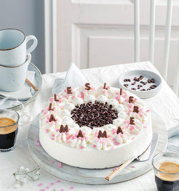 Genial einfach: Buchstaben-Torte zum Muttertag 2