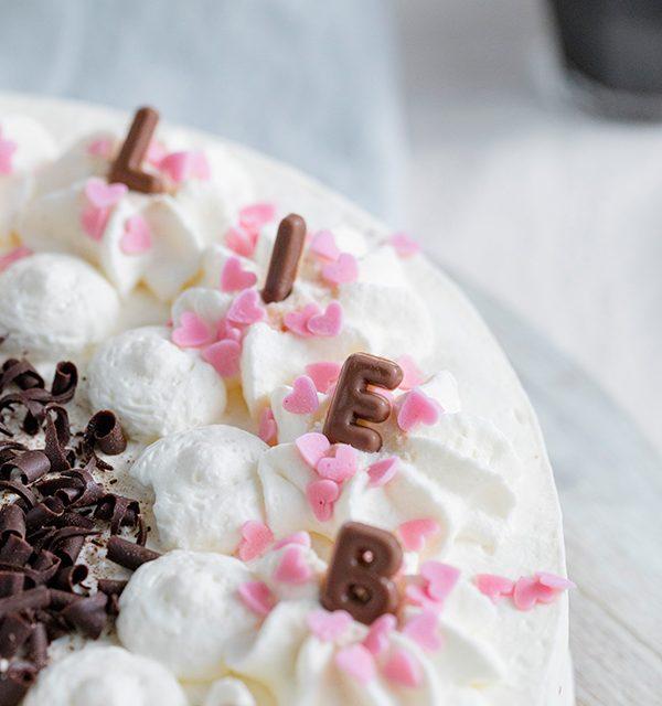 Genial einfach: Buchstaben-Torte zum Muttertag 32