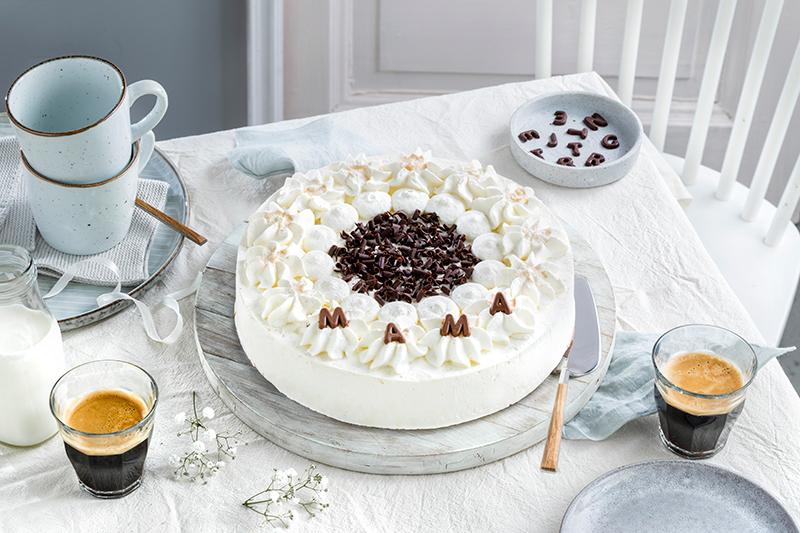 Genial einfach: Buchstaben-Torte zum Muttertag 40