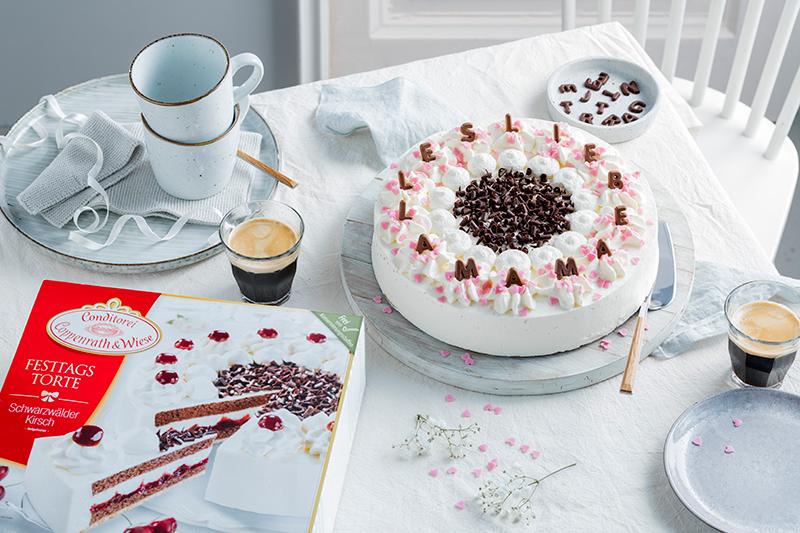 Genial einfach: Buchstaben-Torte zum Muttertag 42
