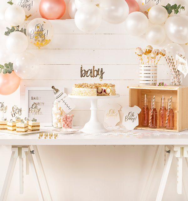 Sweet Table zur Babyparty 9