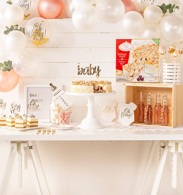 Sweet Table zur Babyparty 10