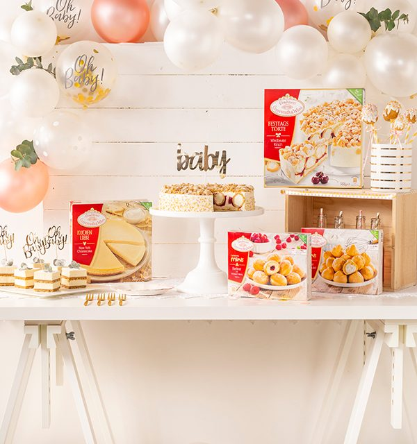 Sweet Table zur Babyparty 11