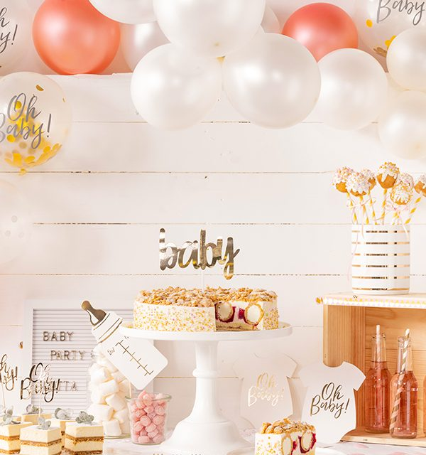 Sweet Table zur Babyparty 12
