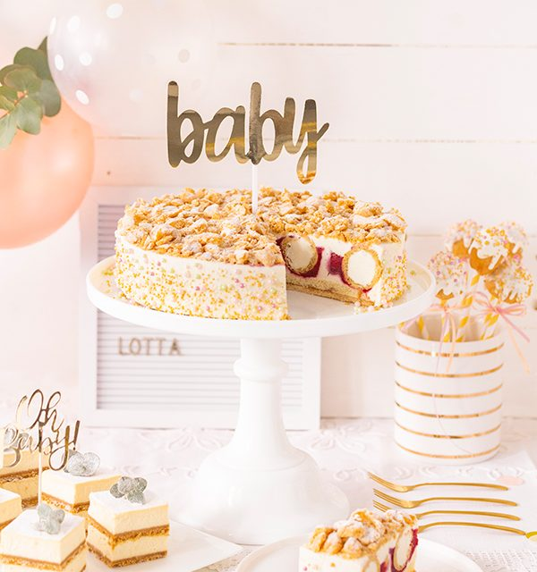 Sweet Table zur Babyparty 22