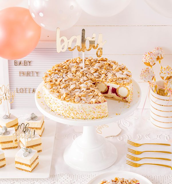 Sweet Table zur Babyparty 25