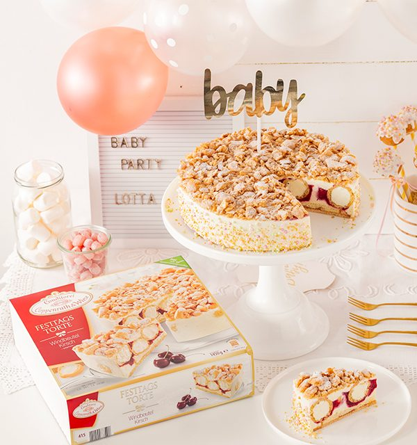 Sweet Table zur Babyparty 26