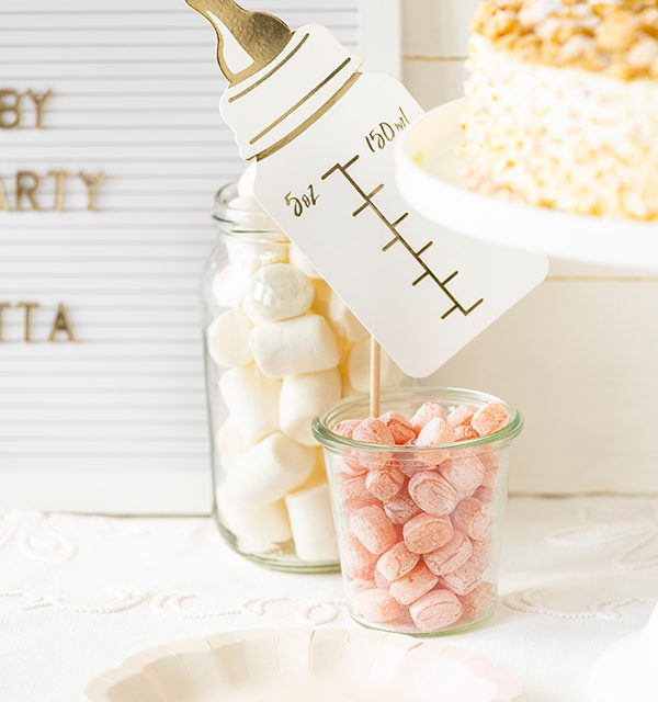 Sweet Table zur Babyparty 2