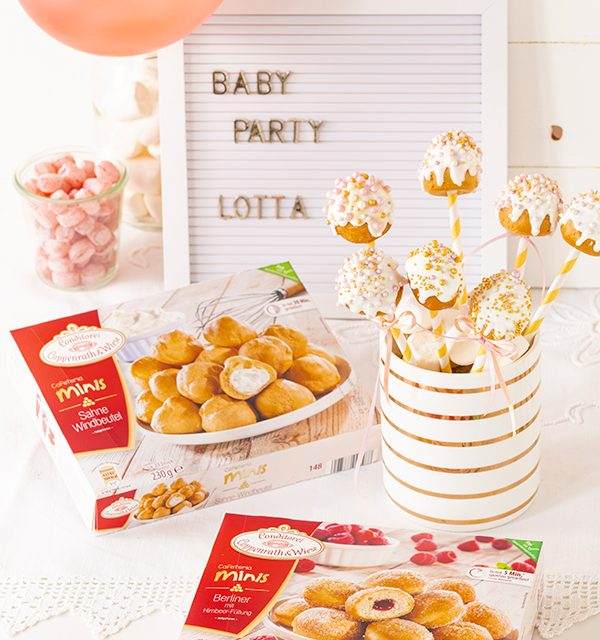 Sweet Table zur Babyparty 34