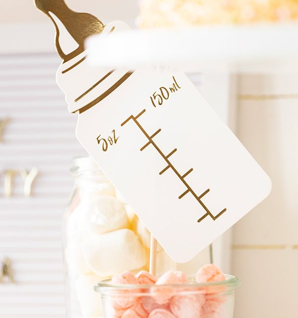 Sweet Table zur Babyparty 3