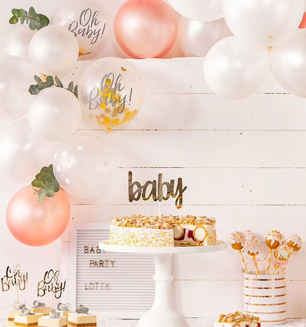 Sweet Table zur Babyparty 13