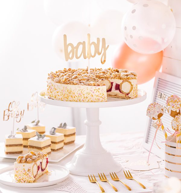 Sweet Table zur Babyparty 24