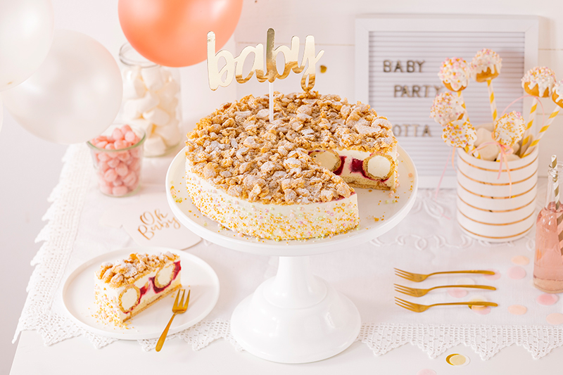 Sweet Table zur Babyparty 43