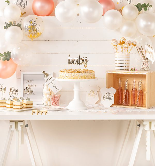 Sweet Table zur Babyparty 8