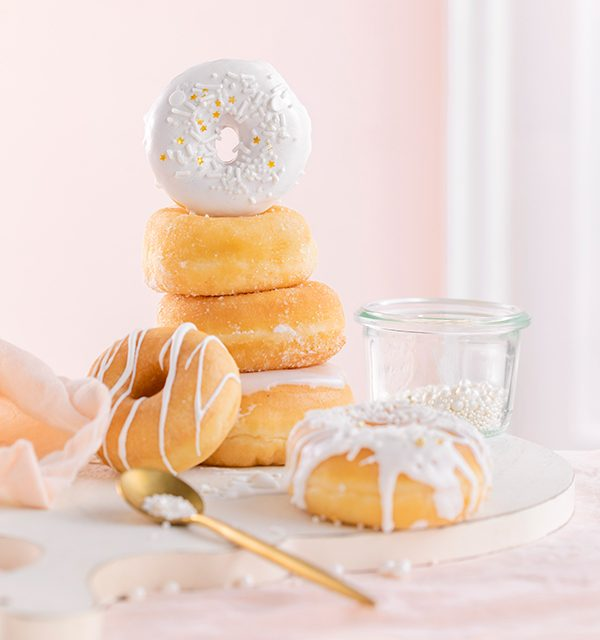 Donut-Torte ganz ohne backen! 10