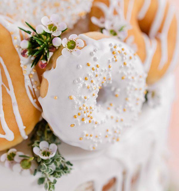 Donut-Torte ganz ohne backen! 12