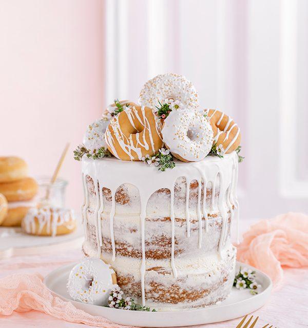 Donut-Torte ganz ohne backen! 1