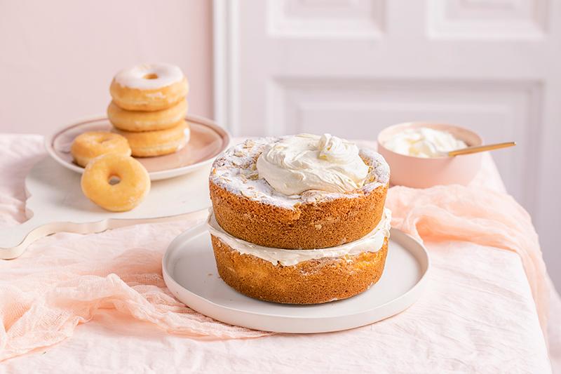 Donut-Torte ganz ohne backen! 21