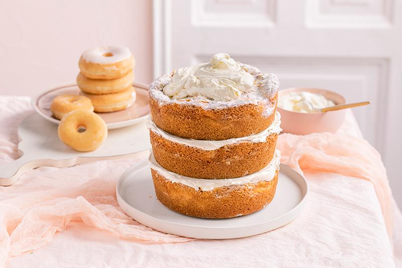 Donut-Torte ganz ohne backen! 24