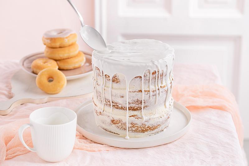 Donut-Torte ganz ohne backen! 30