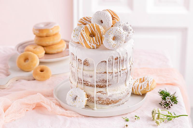 Donut-Torte ganz ohne backen! 32