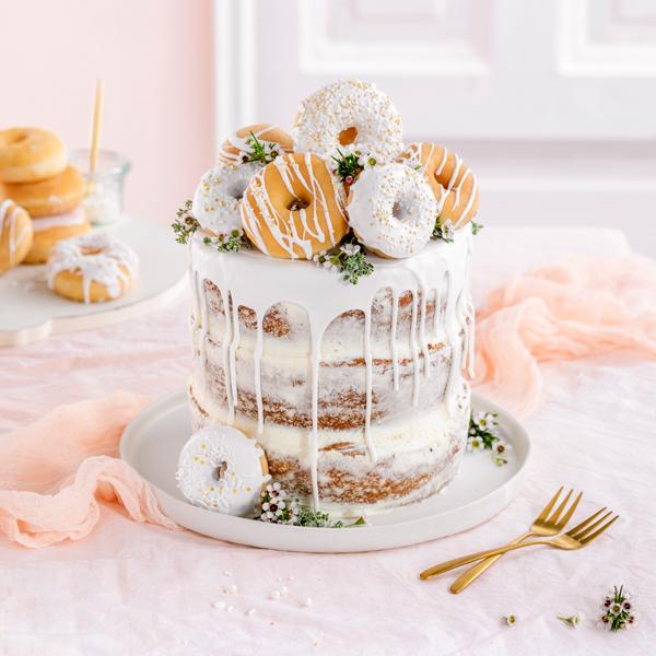 Donut-Torte ganz ohne backen! 35