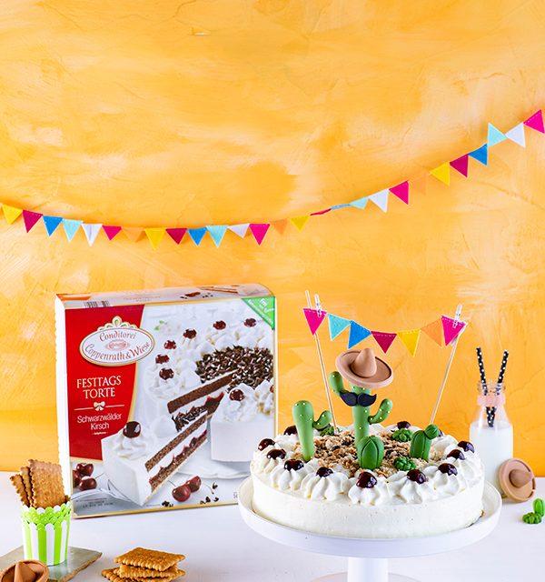 Für alle Pflanzenfans: Kaktus-Torte! 13