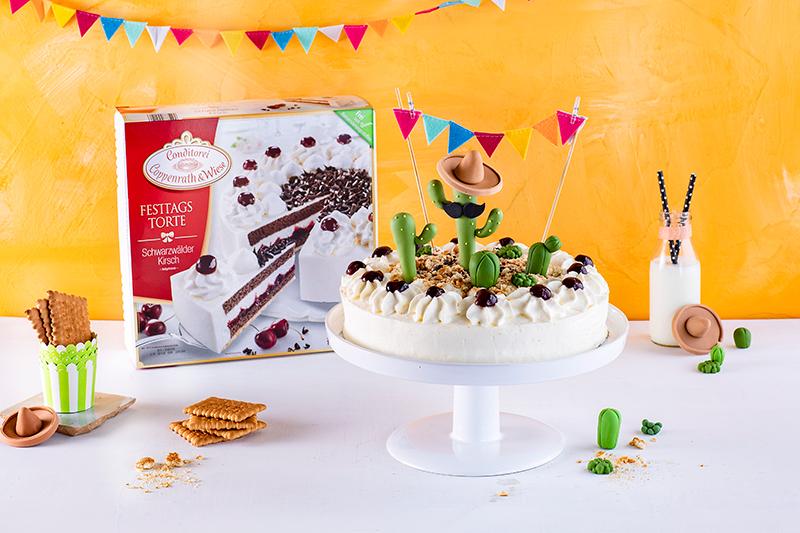 Für alle Pflanzenfans: Kaktus-Torte! 17