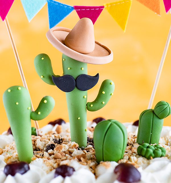Für alle Pflanzenfans: Kaktus-Torte! 2