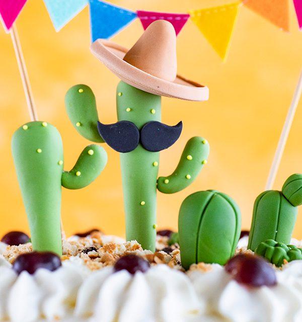 Für alle Pflanzenfans: Kaktus-Torte! 8
