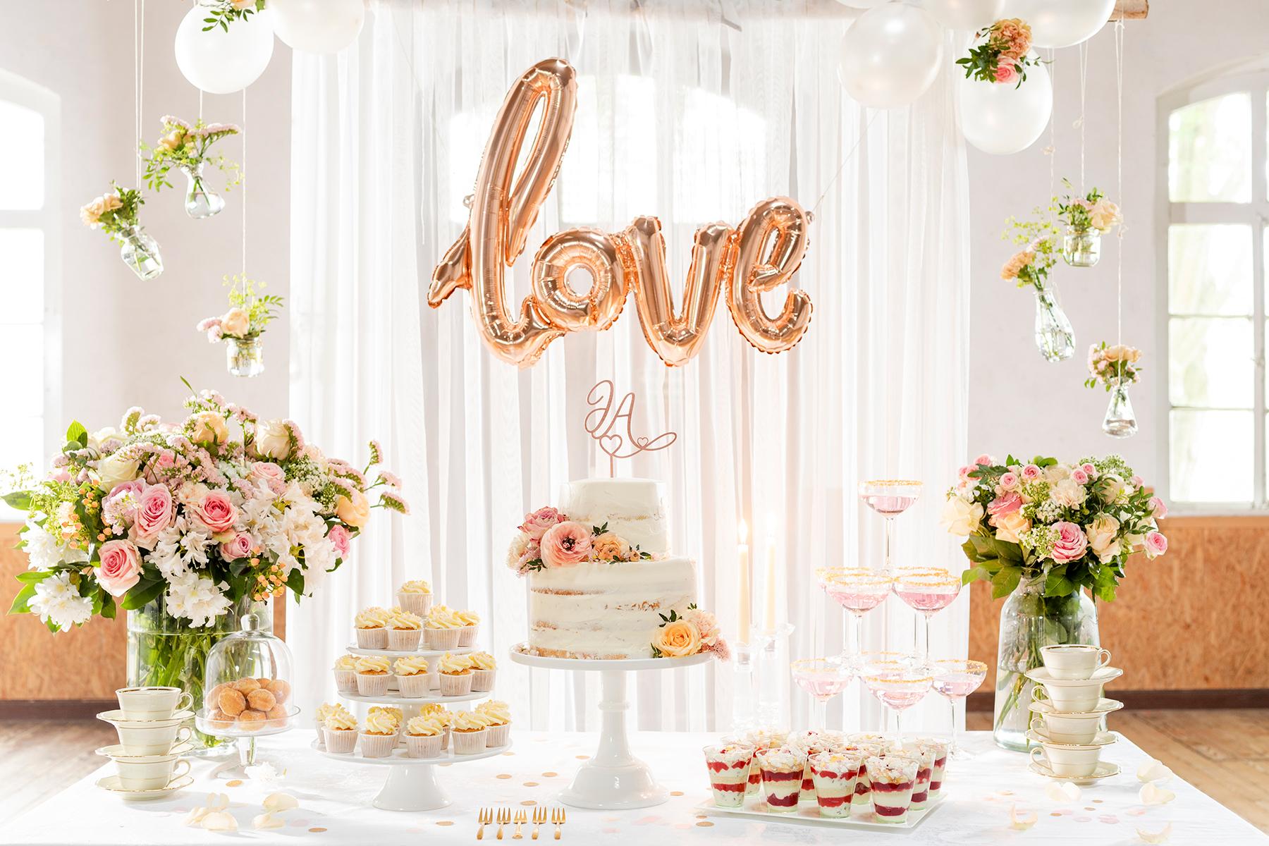 Sweet Table zur Hochzeit