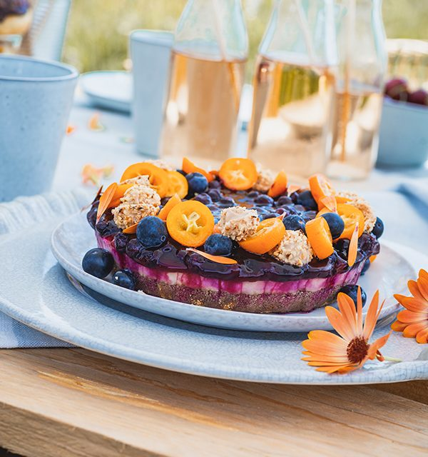 Blaubeer-Cheesecake im Sommerlook! 12