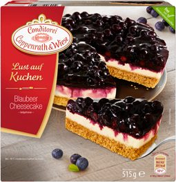 Blaubeer-Cheesecake im Sommerlook! 1