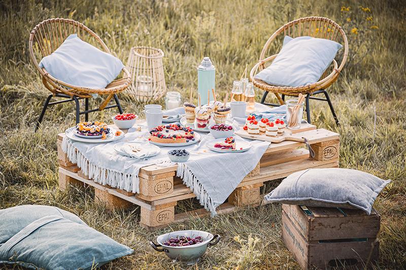 Blaubeer-Cheesecake im Sommerlook! 26